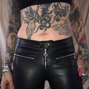 Rue 21 pleather pants size small